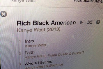 Kanye west rich black American leak