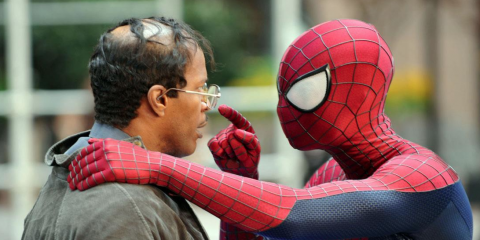 The-Amazing-Spider-Man-2-Set-images Jamie-Foxx-and-Andrew-Garfield-16