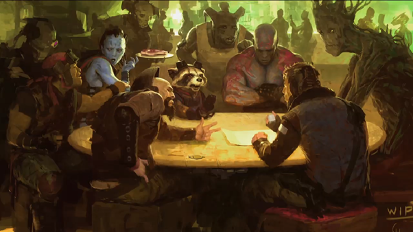 Guardians of the Galaxy Concept art 2014