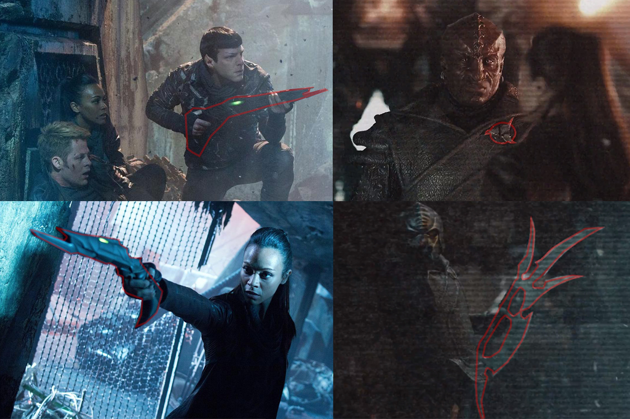 In the images below we See the New Klingon weapons and how they look    New Klingon Weapons