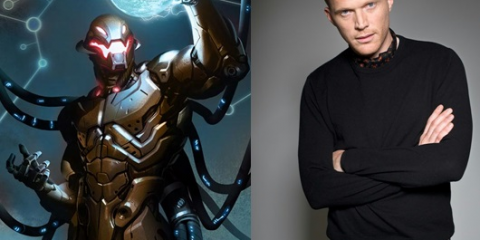 Voice of Ultron is Paul Bettany (Jarvis)