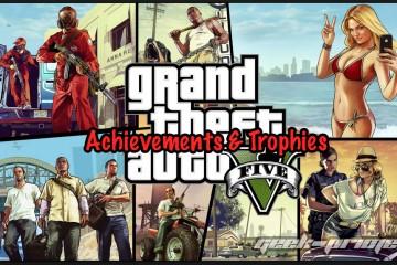 Grand Theft Auto 5 (V) Achievements & Trophies