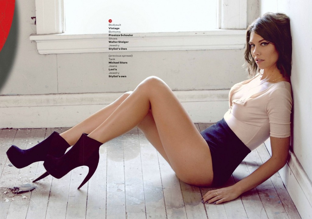 Useful Lauren cohan naked photo shoot for the
