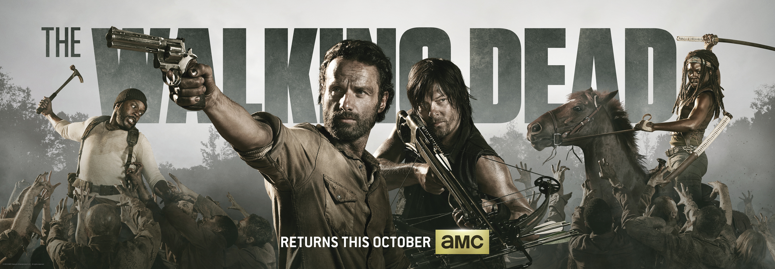 Amazon Prime The Walking Dead Season 4
