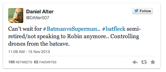 Batman Vs Superman Plot info?