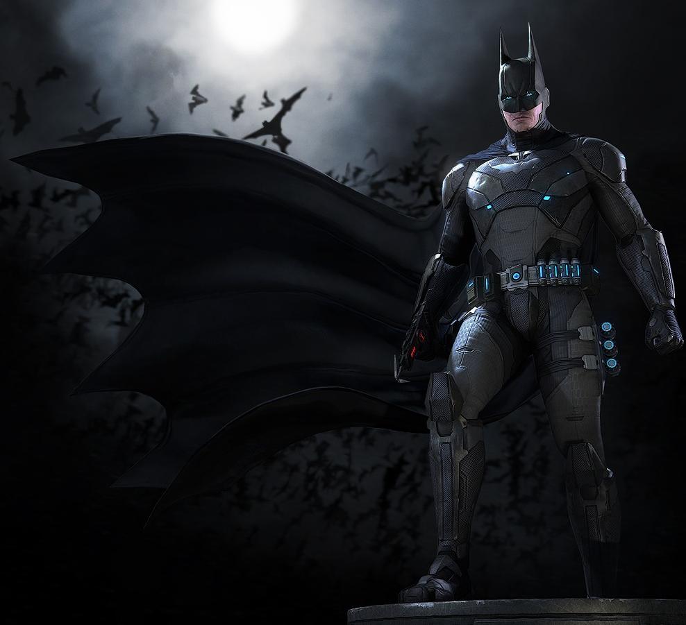 New Batman Uniform Vs Superman 4