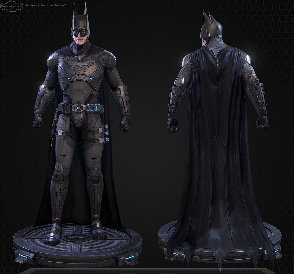 Batman Suit: The New Batman Uniform For Batman Vs. Superman