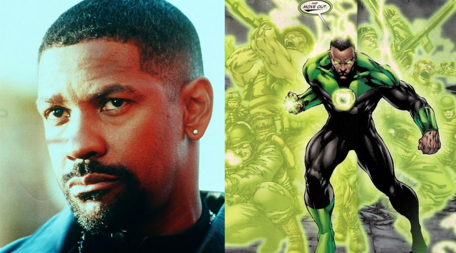 Denzel-Washington-as-Green-Lantern