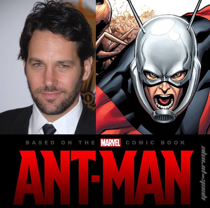 Paul Rudd Cast for Ant-Man Movie coming in 2015!
