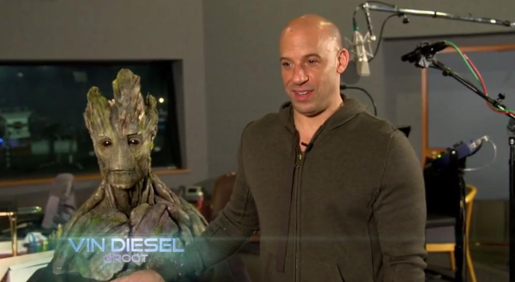 """Vin Diesel Talks """"Groot"""" - Guardians of the Galaxy - Geek ..."""