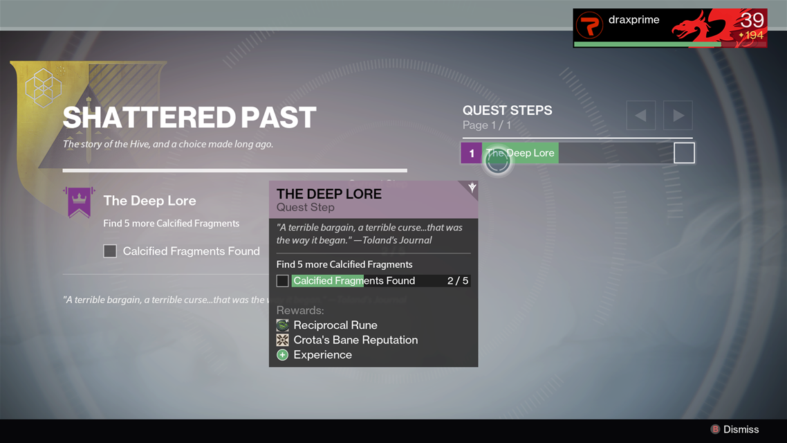 Calcified-fragment-Shattered-Past-Quest-Destiny