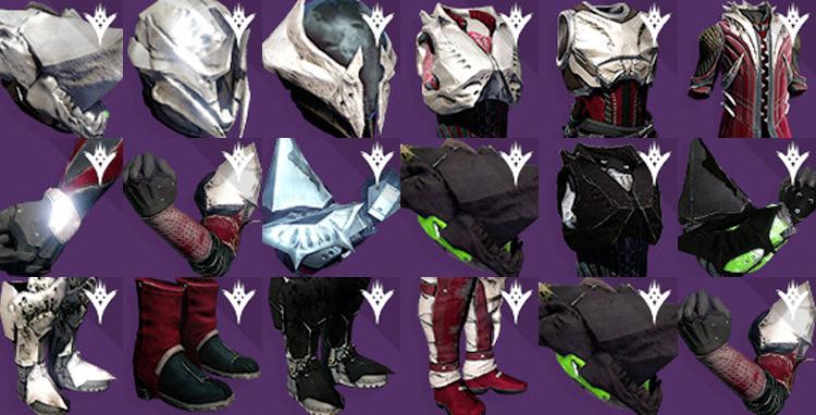 Destiny taken king s raid king s fall raid gear amp details