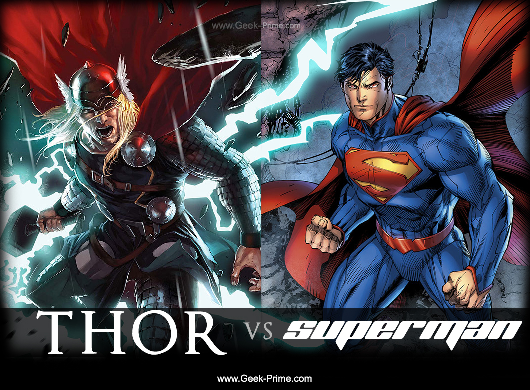 Superman-Vs-Thor