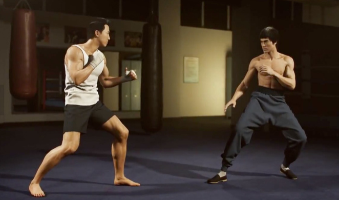"Bruce Lee Vs Donnie Yen in CG Short ""A Warriors Dream"""