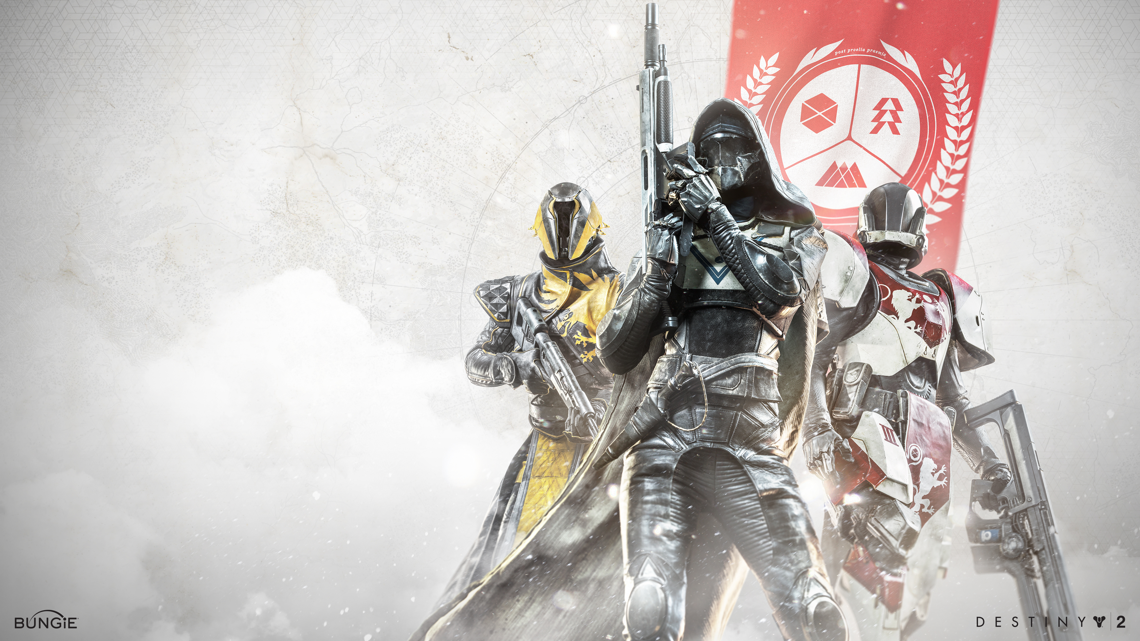 40+ Destiny 2 HD & 4k Wallpapers with Hunters, Titans & More from Bungie!