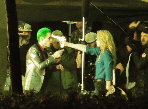 Home movies suicide squad movie jared leto as the joker on the set of