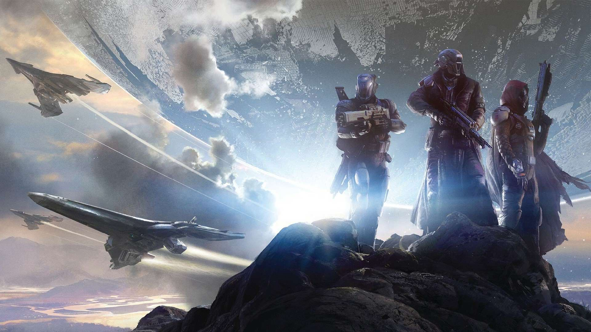 Destiny Rise Of Iron Wallpaper: Destiny-rise-of-iron-wallpaper-guardians