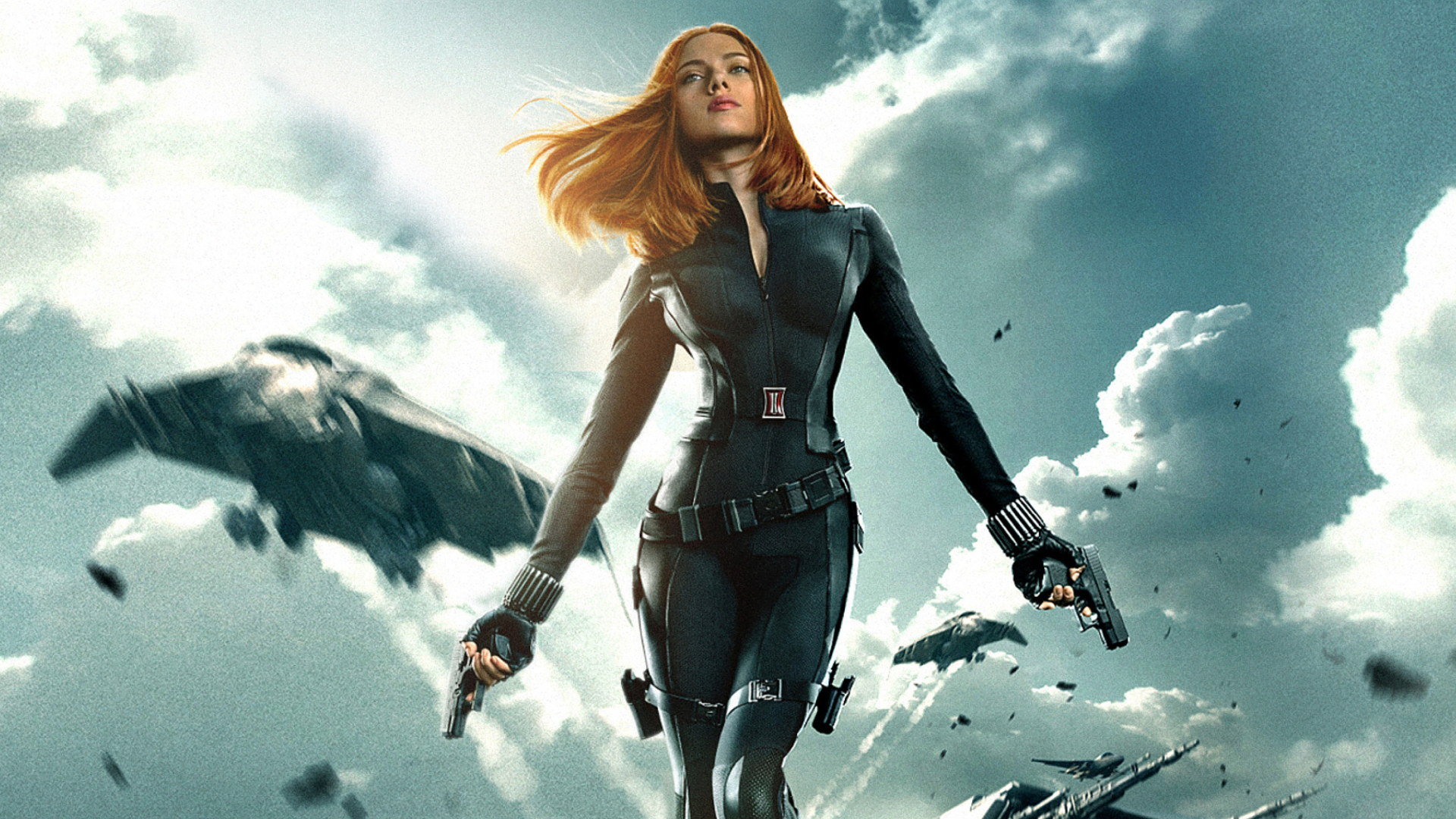 Download 1920x1080 Black Widow The Avengers Wallpaper