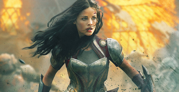 Hottest Female Marvel characters -Lady Sif (Jaimie ...