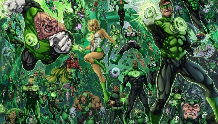 "Casting the ""Green Lantern Corps"" Part One"