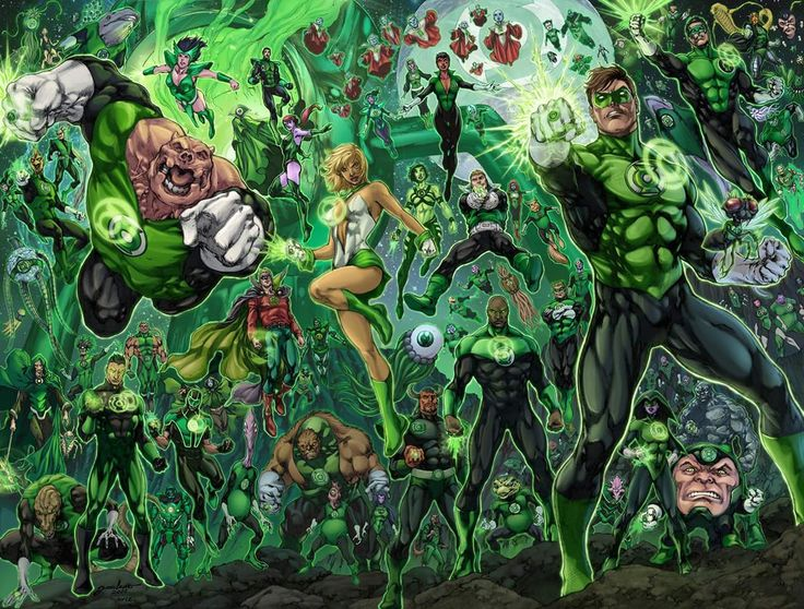 Who Can Play the 'Green Lantern Corps'?