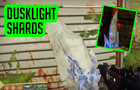 Where to get Dusklight shards in Destiny 2