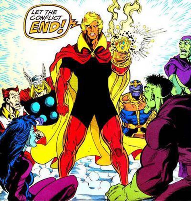 Image result for Adam Warlock let the conflict end
